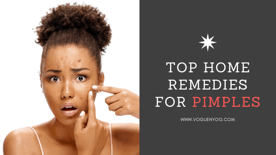top home remedies for pimples removal