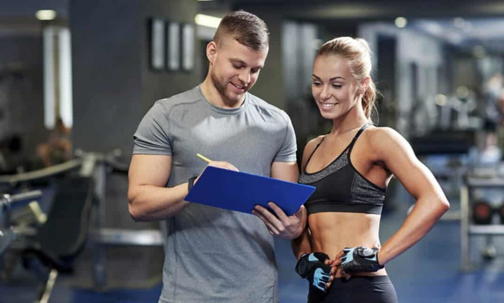 Ask your personal trainer