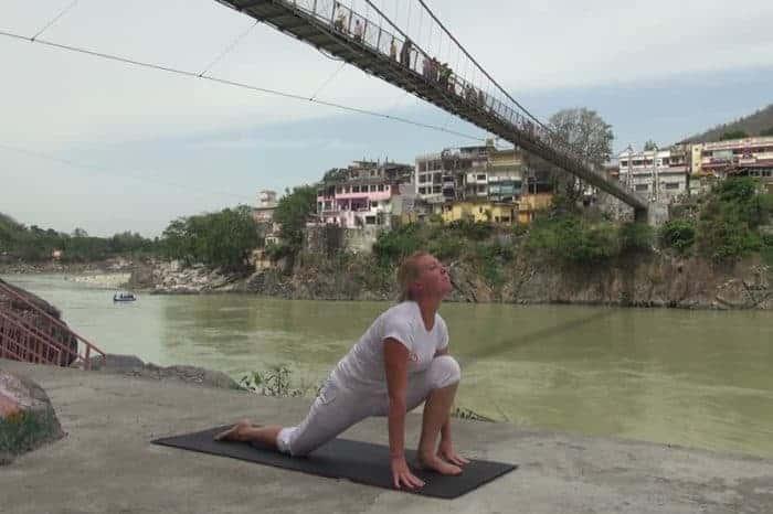 Ashwa Sanchalanasana pose 9