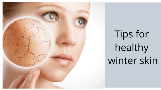 get rid of dry winter skin