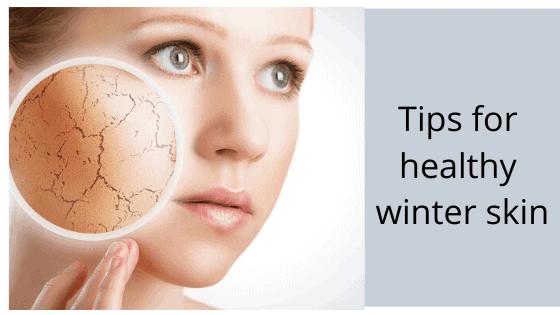 get rid of dry winter skin