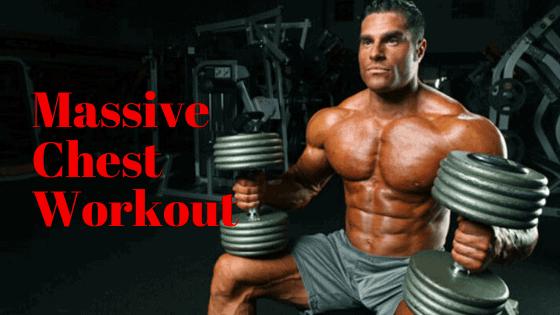 best exercises for massive chest