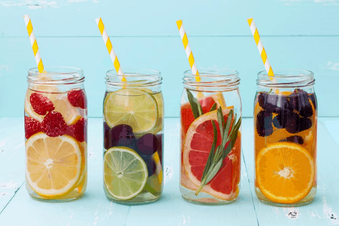 easy weight loss and detox drinks